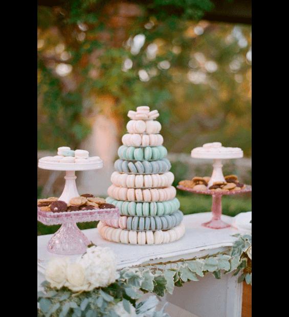 макаронс на свадьбу